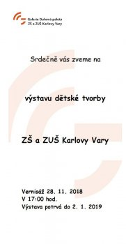 Dětská tvorba ZŠ  a ZUŠ Karlovy Vary