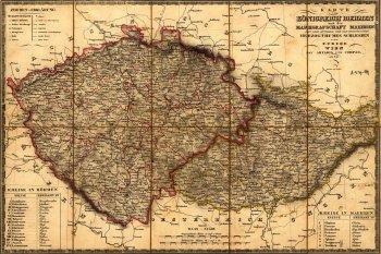 100 let proměn hranic našich regionů