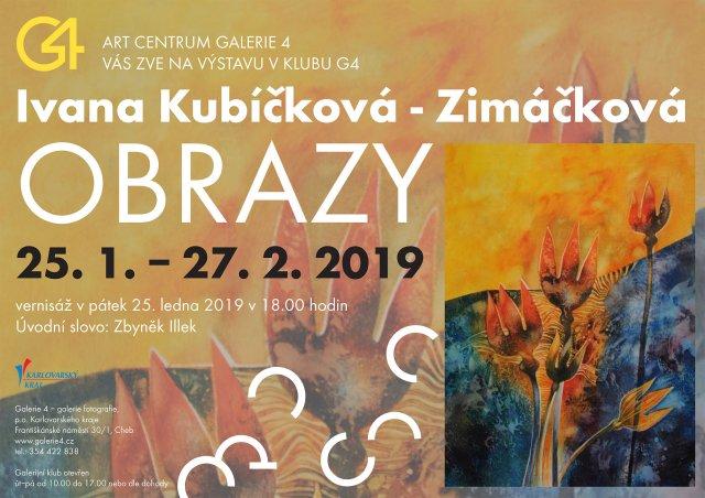Ivana Kubíčková - Zimáčková / Obrazy