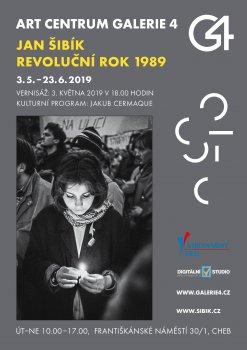 GALERIE 4 | Jan Šibík - Revoluční rok 1989