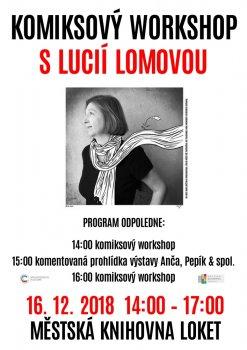 Komiksový workshop s Lucií Lomovou
