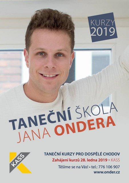 Taneční kurzy s Taneční školou Jana Ondera