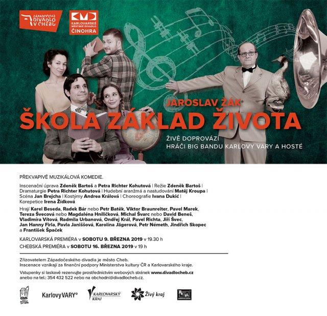 Škola základ života / Jaroslav Žák - veřejná generálka