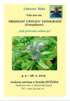PRODEJNÍ VÝSTAVA FOTOGRAFIÍ - FOTOPLÁTEN