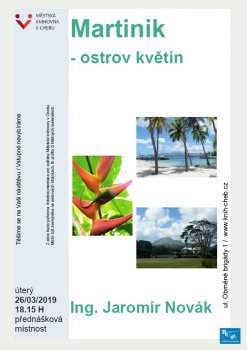 Martinik - ostrov květin - Ing. Jaromír Novák