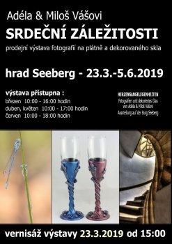 """Ausstellung """"Herzensangelegenheiten"""" Adéla & Miloš"""