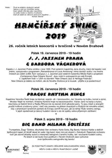 Hrnčířský swing 2019