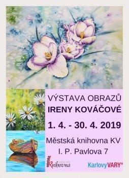 Výstava obrazů Ireny Kováčové