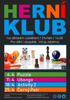 Herní klub - Černý Petr