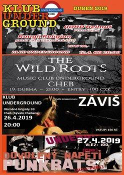 Koncerty v Klubu Underground