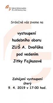 Výstava absolventů ZŠ a ZUŠ K. Vary
