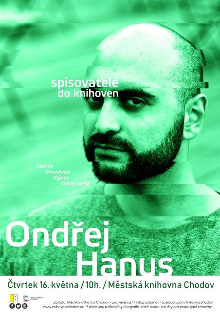Spisovatelé do knihoven - Ondřej Hanus