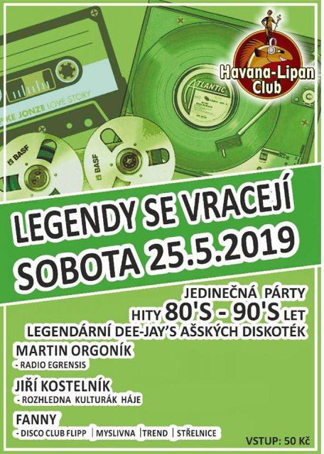Legendy se vracejí - 80. a 90. Léta