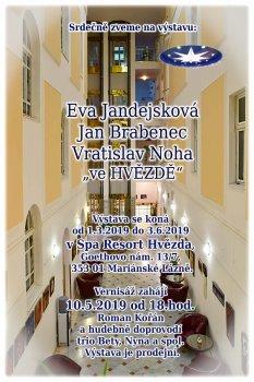 Eva Jandejsková, Jan Brabenec, Vratislav Noha ,,ve HVĚZDĚ