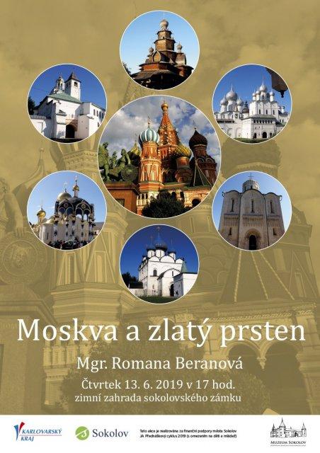 Romana Beranová – Moskva a zlatý prsten
