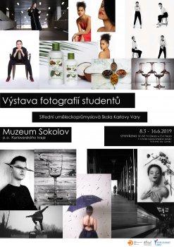 Výstava fotografií studentů Střední uměleckoprůmyslové školy Karlovy Vary