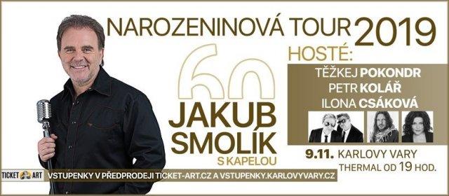 Jakub Smolík - Tour 60, koncert s kapelou a hosty