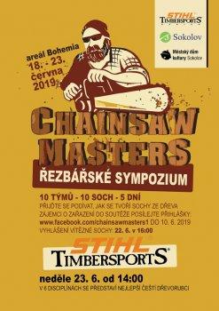 Chainsaw Masters – řezbářské sympozium