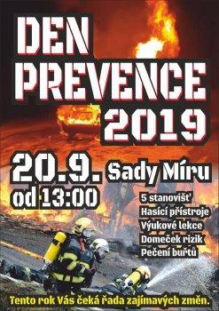 Den prevence 2019