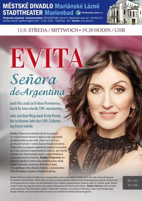 EVITA Señora de Argentina