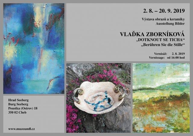 """Výstava """"Dotknout se ticha"""" – Vlaďka Zborníková"""