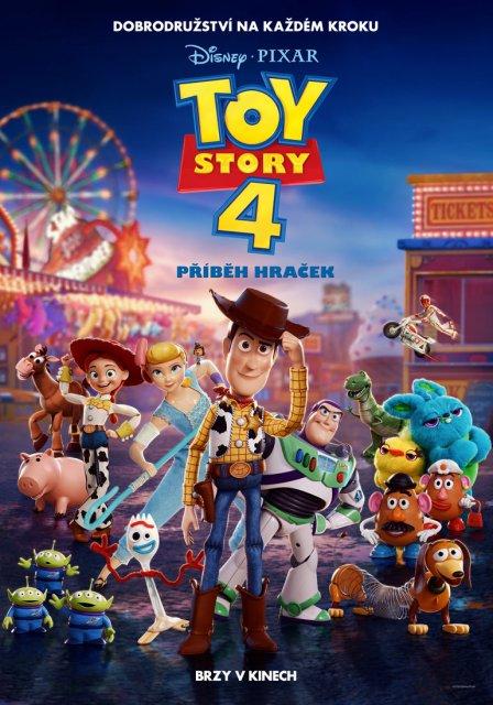 3D Toy Story 4: Příběh hraček