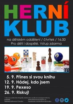 Herní klub - Pexeso