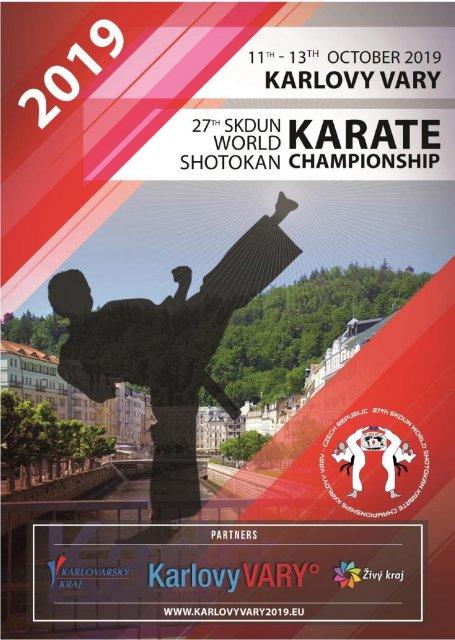 27th SKDUN World shotokan karate Championships 2019 – Karlovy Vary