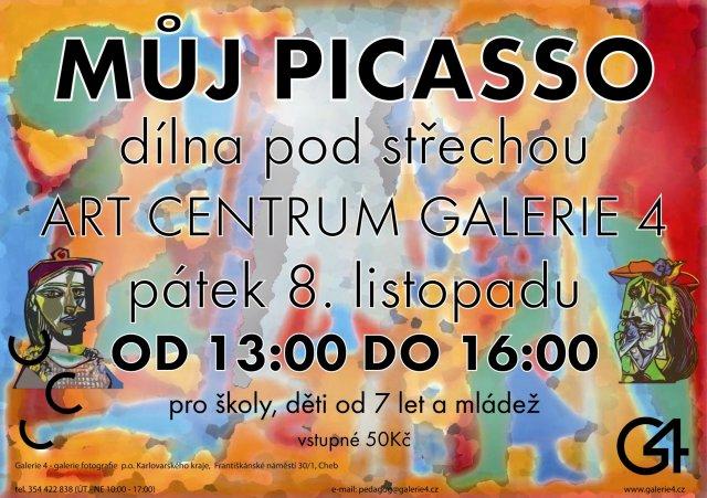 GALERIE 4|Dílna Pod střechou - Můj Picasso
