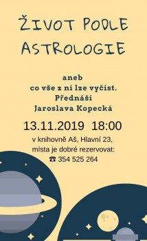 Život podle astrologie 2019