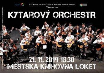 Koncert ZUŠ: Kytarový orchestr