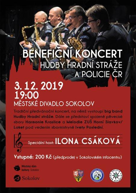 Koncert hudby Hradní stráže a Policie ČR