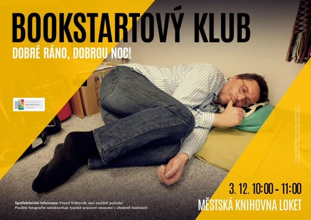 Bookstartový klub: Dobré ráno, dobrou noc!