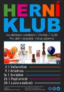 Herní klub - Pojď si hrát