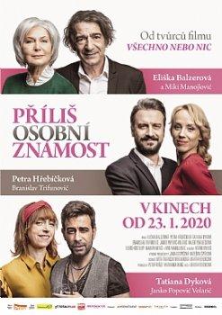 Příliš osobní známost (ČR/SR) - 2020