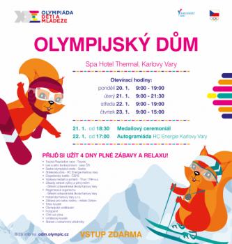 Olympijský dům - UKONČENÍ