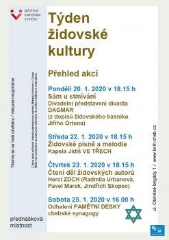 Přednáška Židé v českém pohraničí - Mgr. Karel Hrdlička
