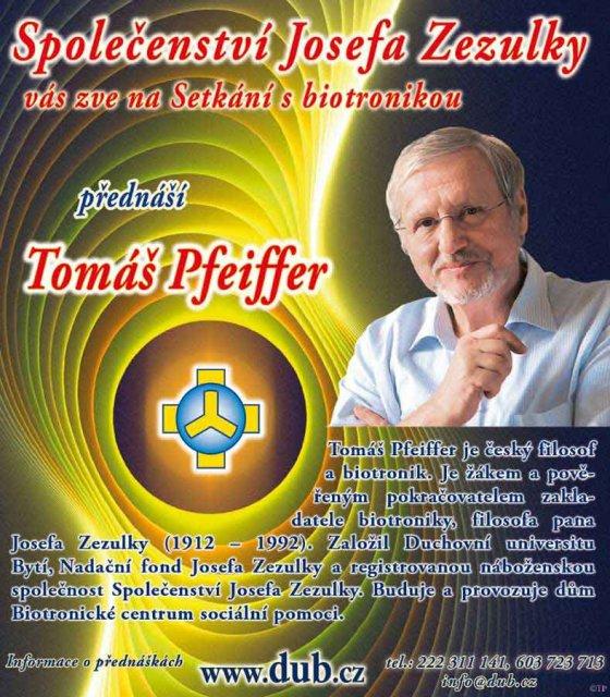 Tomáš Pfeiffer - Setkání s biotronikou / Karlovy Vary