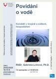 Povídání o vodě - RNDr. Gabriela Licková, Ph.D.