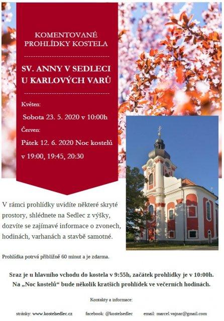 Komentovaná prohlídka kostela sv. Anny v Sedleci