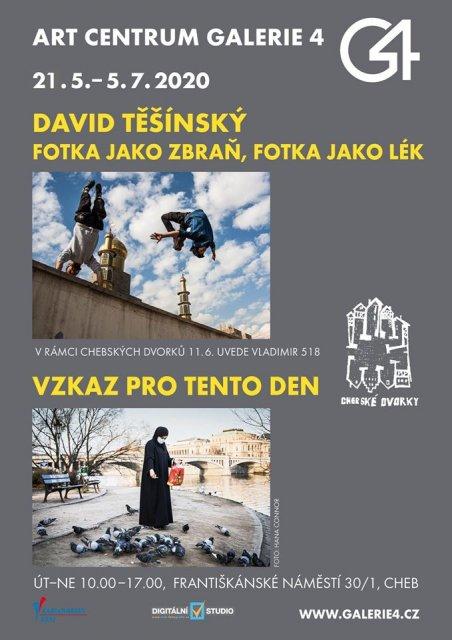 GALERIE 4   David Těšínský - Fotka jako zbraň, fotka jako lék