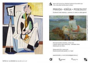 PRAVDA / KRÁSA / POSEDLOST – Osobnosti české moderny 1. poloviny 20. století