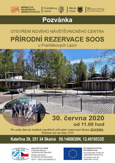 Otevření nového návštěvnického centra