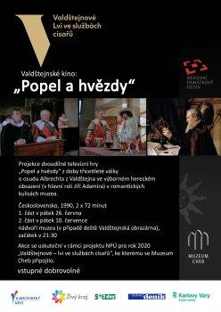 """Valdštejnské kino  II: """"Popel a hvězdy"""" - 2. část"""