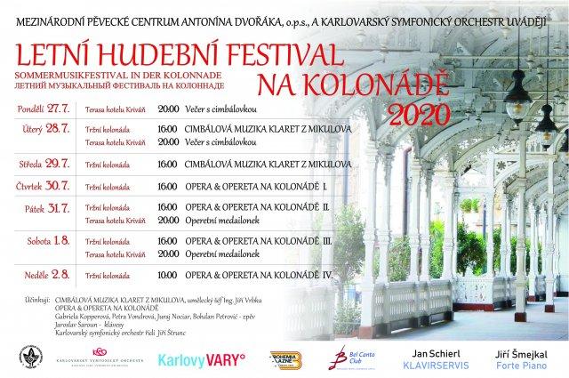 Hudební festival na kolonádě