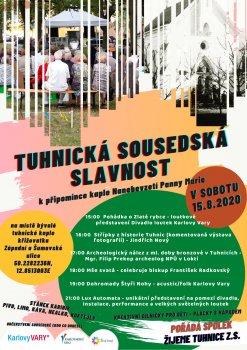 Sousedské slavnosti v Tuhnicích