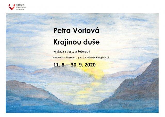 Výstava Petra Vorlová: Krajinou duše