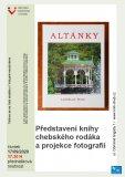 Altánky. Představení knihy a projekce fotografií - Ladislav Šolc