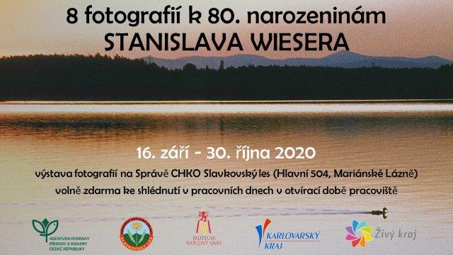 8 fotografií k  80. narozeninám Stanislava Wiesera