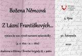 Výstava Božena Němcová: Z Lázní Františkových...